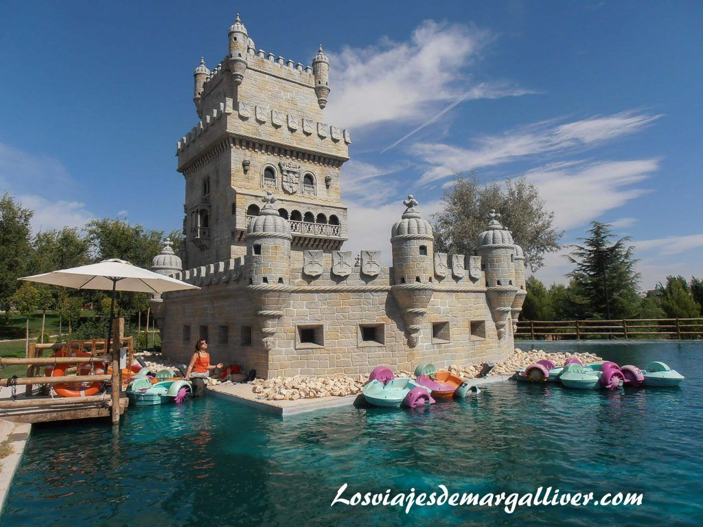 Torre de Belem del parque Europa - Los viajes de Margalliver